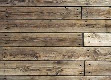 Oude houten vloer Stock Fotografie