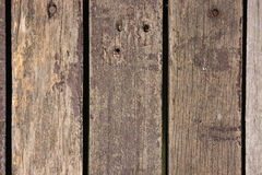 Oude houten vloer, achtergrondtextuur Stock Foto