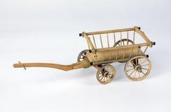 Oude houten wagen Royalty-vrije Stock Foto