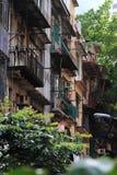 Oude Huis en Ruïnes Stock Fotografie
