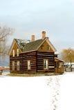 Oude huisplaats Royalty-vrije Stock Afbeelding