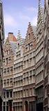 Oude huizen in Antwerpen Royalty-vrije Stock Foto