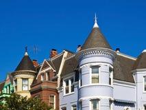 Oude Huizen in Georgetown, Washington Royalty-vrije Stock Afbeeldingen