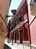 Oude huizen in Sevilla, Spanje royalty-vrije stock fotografie