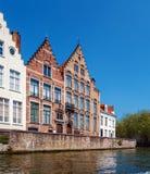 Oude Huizen van Brugse Vrije, Bruge royalty-vrije stock fotografie