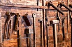 Oude hulpmiddelen stock foto