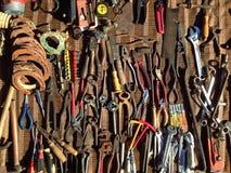 Oude hulpmiddelen Stock Fotografie
