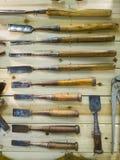 Oude hulpmiddelen Stock Afbeeldingen
