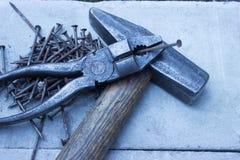 Oude hulpmiddelen Stock Foto's