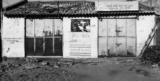 Oude hut royalty-vrije stock foto's