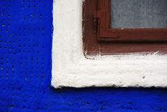 Oude hutclose-up Stock Foto's