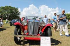 Oude iconische Britse sportwagen Stock Foto's