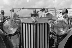 Oude iconische Britse sportwagen Stock Afbeeldingen