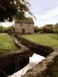Oude Ierse molen Royalty-vrije Stock Foto