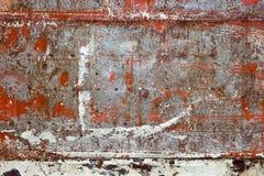 oude ijzer of zinkmuuroppervlakte Royalty-vrije Stock Fotografie