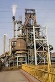 oude ijzerfabriek Stock Foto