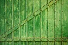 Oude ijzerpoort, achtergrondtextuur Royalty-vrije Stock Foto
