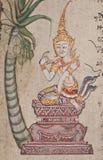 Oude Illustratie van Thailand Stock Foto