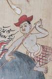 Oude Illustratie van Thailand - Mens royalty-vrije illustratie