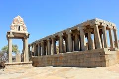 Oude Indische Tempel Stock Foto's