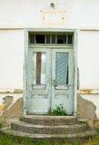 Oude ingang stock foto