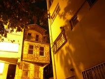 Oude Istanboel nacht 02 Stock Afbeeldingen