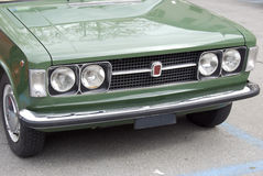 Oude Italiaanse auto Royalty-vrije Stock Foto