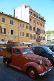 Oude Italiaanse auto - FIAT royalty-vrije stock foto's
