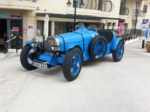 Oude Italiaanse Raceauto Stock Afbeeldingen
