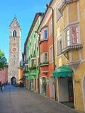 Oude Italiaanse stad stock afbeelding