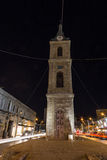 Oude Jaffa bij nacht. Tel Aviv. Israël Royalty-vrije Stock Fotografie