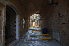 Oude Jaffa. Israël Stock Foto