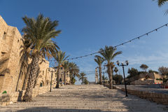 Oude Jaffa. Israël Stock Afbeeldingen