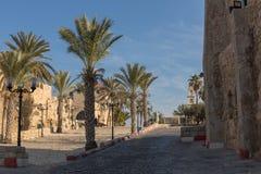 Oude Jaffa. Israël stock foto's