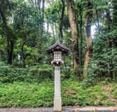 Oude Japanse lantaarn Royalty-vrije Stock Foto
