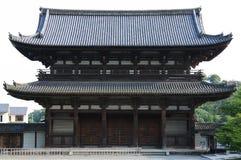 Oude Japanse poort Stock Foto