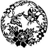 Oude Japanse tatoegering royalty-vrije illustratie