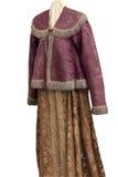 Oude jasje en rok royalty-vrije stock fotografie