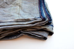 Oude jeans Stock Afbeelding
