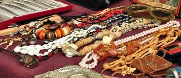 Oude jewelery royalty-vrije stock fotografie