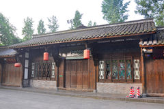 Oude Jinli Straat, Chengdu Stock Fotografie