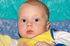 Oude jongen van de baby 5 de maanden Royalty-vrije Stock Afbeelding