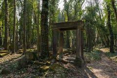 Oude Joodse begraafplaats royalty-vrije stock afbeelding