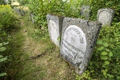 Oude Joodse cementery Royalty-vrije Stock Afbeeldingen