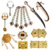 oude juwelenreeks Stock Foto