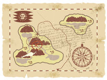 Oude Kaart Stock Afbeeldingen