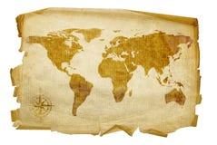 Oude kaart. Royalty-vrije Illustratie