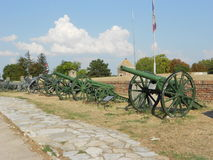 Oude kanonnen Stock Fotografie