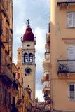 Oude kapel in oude stad Stock Foto's