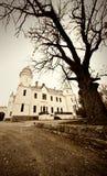 Oude kasteelfoto royalty-vrije stock foto